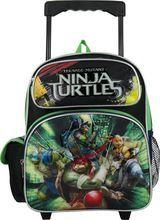 "New 2017 Teenage Mutant Ninja Turtles Mobile Device with Apps 16/"" Boys Backpack"