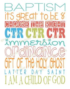 baptism subway art - perfect for twins' party this year Primary Activities, Church Activities, Lds Primary, Singing Time, Visiting Teaching, Lds Church, Lds Quotes, Subway Art, Activity Days