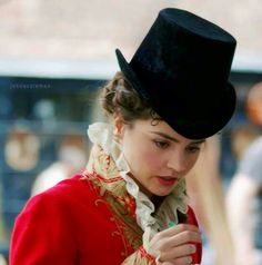 Jenna Coleman in 'Death Comes to Pemberley'