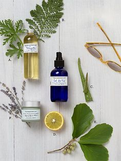 Our Summer Sun Heroes-skincare treatments from nature (Terrain)