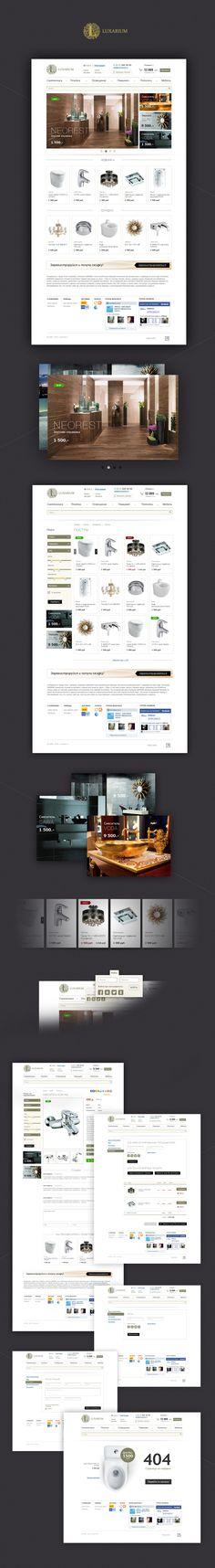 Luxarium - интернет-магазин  Site © Михил Соловьев