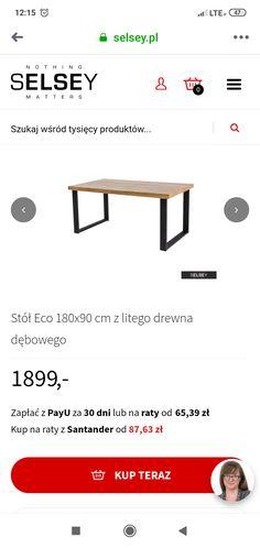 Stół 180/90 Living Room