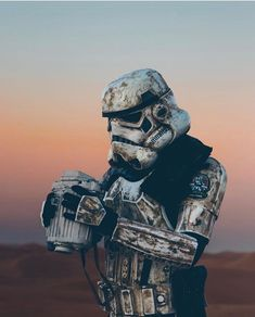 This trooper's had it! Who else is looking forward to the weekend already!? Follow @starwars_concept Follow @starwars_concept #starwars #trooper #earlyweekend : @mattia.everywhere