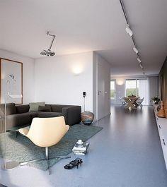Lange (tv)kast voor smalle woonkamer   Séjour - Living room ...