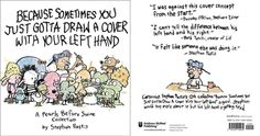FUNNY comicstrip book cover