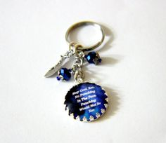 Kate Daniels Series Keychain  Stay Cool...Zen