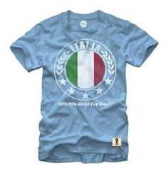 FIFA Officially Licensed Brazil World Cup T-shirt Team Italy available at http://www.world-cup-products-worldwide.com/fifa-officially-licensed-2014-football-world-cup-italy-t-shirt/