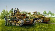 Panzer IV and Jagpanther