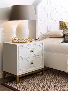 Chelsea Nightstand – Chelsea by Rachael Ray - Legacy Classic Furniture Decor, Furniture, Interior, Home, Drawer Nightstand, Legacy Classic Furniture, Modern Bedroom Dressers, Bedroom Night Stands, Cream And Gold Bedroom