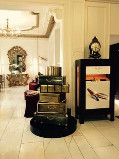 Boca do Lobo's unique luxury safes are being displayed at Hotel Euler Basel and Hotel St. Gotthard in Basel, as well as in the Restaurant Sonne. If you're near by, be sure to stop by and take a look at these amazing pieces! #bocadolobo #luxurysafes #baseworld2015 #privatecollection
