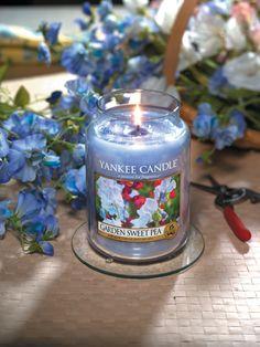 La fragancia Garden Sweet Pea de Yankee Candle tiene un aroma muy delicado y cautivador. Es ideal para para lo amantes de las fragancias florales, totalmente diferente a las demás y única.  http://www.velasdeolor.es/yankee-candle/108-garden-sweet-pea