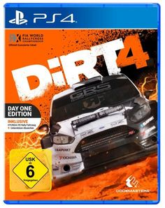 DiRT 4 Day One Edition - Playstation 4