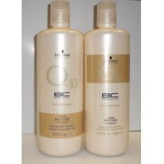 Introducing Schwarzkopf BC Bonacure Hair Therapy Repair Rescue Shampoo and Conditioner Liter Duo 338 oz With Pumps. Get Your Ladies Products Here and follow us for more updates!