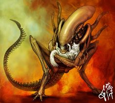 alien fan art - Buscar con Google