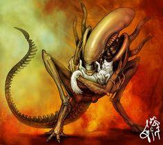 alien fan art - Buscar con Google