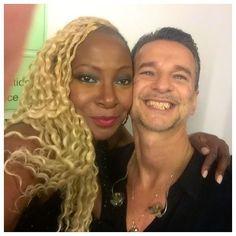 Backstage selfie with the Boss ! <3 Source @Rubeeroseuk via IG
