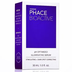 Sneak preview of our new PHACE BIOACTIVE Illuminating Serum packaging. Official launch in May. #thephacelife #ph #phbalance #balance #beauty #health #wellness #pure #glow #natural #naturalskincare #antiaging #bright #happy #vitaminc #clearskin #healthyskin #thephaceglow #skin #radiant #packagedesign #hero #supercool #heroproduct #beautywithsubstance