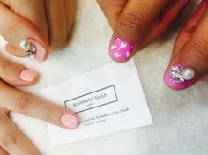 Pink Nail Art  From. Bloomingnails