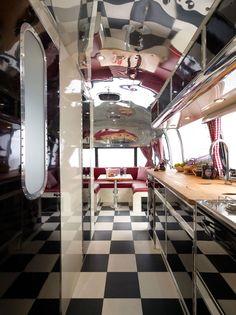 Restored Airstream Interiors | Previous post: Interior Taking Shape