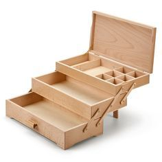 Sewing Box with 3 Drawers