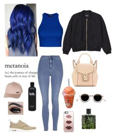 """Untitled #250"" by shope-xo on Polyvore featuring Monki, Topshop, Casetify, Nest, NIKE, Billabong, Burberry and Acne Studios"