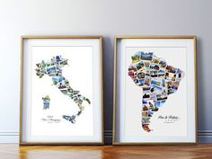 This idea would be so perfect for pictures of back home in California. I love adding personal touches like this in my home