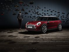 Spacious, sporty and supremely elegant. Introducing the MINI Clubman Concept.