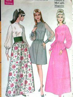 McCalls Dress Pattern No 9461 Vintage 1960s by CaliforniaSunset