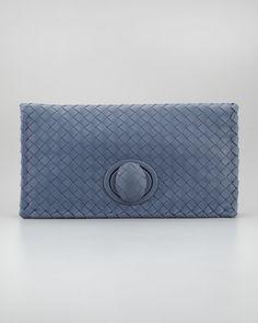 Bottega Veneta Intrecciato Vn Continental Wallet