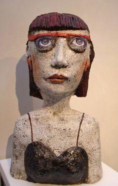 Teresa Girones. Jeune femme aux lunettes   gilblog   Jean-Pierre Gilbert