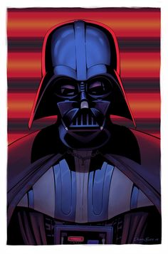 Awesome Darth Vader Illustration