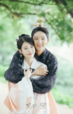 Moon Lovers: Scarlet Heart Ryeo (Hangul: 달의 연인 - 보보경심 려; RR: Dar-ui yeon-in - Bobogyeongsim ryeo) is a South Korean drama based on the Chinese novel Bu Bu Jing Xin by Tong Hua. It began airing on August 29, 2016 on SBS for 20 episodes. During a total eclipse of the sun, a 21st century woman, Ko Ha-jin (IU) is transported back in time to Goryeo Dynasty Korea. 이지은과 이준기