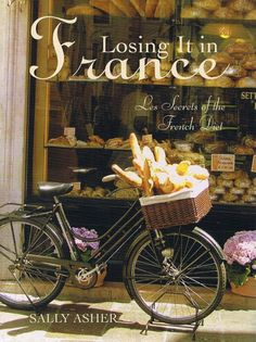 #French #lifestyle - bicycle against a shop window http://www.whitepetalsandpearls.com
