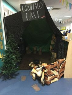 Image result for gruffalo woodland role play