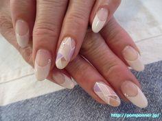 ステンドグラス風のお洒落なネイル #ネイル #nail #nails