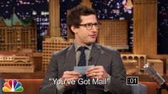Jimmy Fallon and Andy Samberg Give Each Other Five-Second Movie Summaries on 'The Tonight Show'