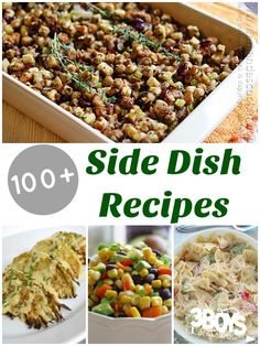 Over 100 Side Dish R