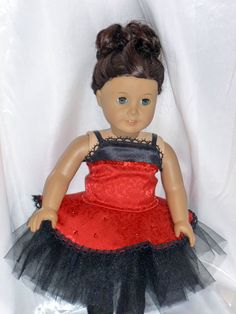 dance costume for 18 inch doll