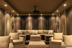 Basement Cinema Room · Home Theater DesignHome ...
