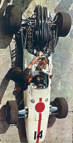 1967 GP Włoch (Monza) Honda RA 300 (John Surtees)