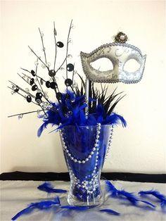 Masquerade Party Centerpieces | Masquerade