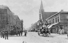 Roman Road, looking east from the corner of Gernon Road circa 1905