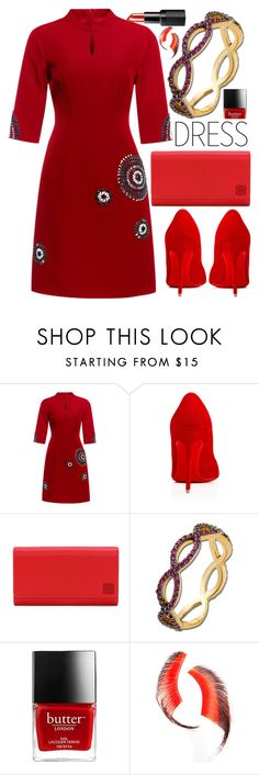 """Anastazio-dress under 100$"" by anastazio-kotsopoulos ❤ liked on Polyvore featuring Loewe, Anastazio and Beauty Is Life"