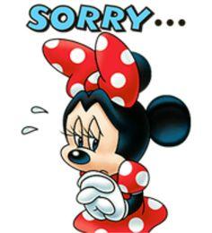 Oh dear, Minnie feeling very sorry of herself