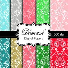 Damask Colors