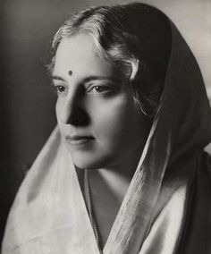 Vijaya Lakshmi Pandit -- the first woman (and first Indian) president of the United Nations General Assembly.