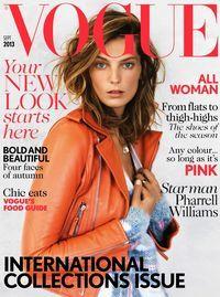 'Rebel Rebel' Daria Werbowy By Patrick Demarchelier For Uk Vogue September 2013