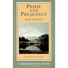 Pride and Prejudice - mmmm..love this book. If you watch the video, make sure to get the 6 hour BBC version with Colin Firth. =]