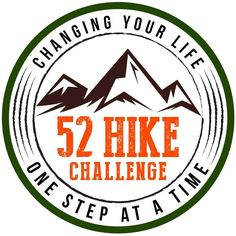 Just received my pin to place on my hydration pack! Will be signing up for my 1st challenge after my day 1 hike on Jan  1st #52hikechallenge
