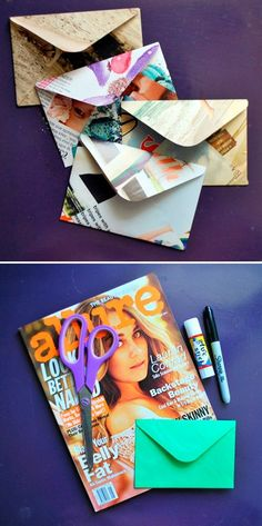 13 Creative Upcycled Magazine Craft Projects That Will Inspire You   Postris